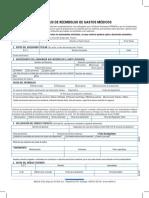 Formulario Seg. Comlementario MetLife
