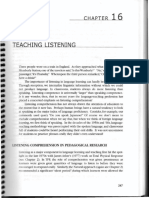 Brown - Ch. 16 - Teaching Listening