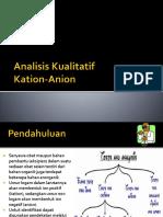 Analisis Kualitatif Anorganik (1)