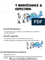 Aircraft Maintenance & Inspection