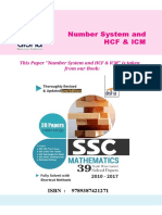 Disha Publication Number System Past Papers