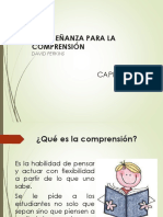 Vdocuments.site 3era Lectura La Ensenanza Para La Comprension David Perkins
