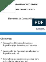 - Elementos de Conectividad