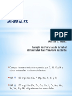 3 Minerales