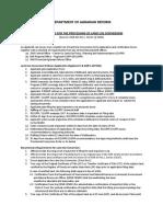 DAR GuidelinesfortheProcessingofLandUseConversion