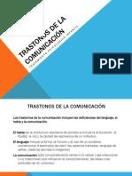 Trastonos de La Comunicación
