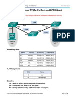 283549492 2 3 2 3 Lab Configuring Rapid PVST PortFast and BPDU Guard ILM PDF
