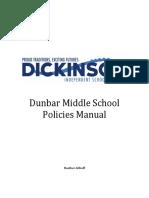 dunbar policy manual