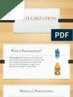 Food Preservation- Pasteurization 13.02.17