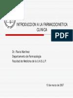 Teoría Farmacocinética Clínica