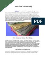 Cara Membuat Kertas Daur Ulang.docx
