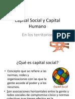 Capital Humano y Capital Social