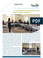 Syunik NGO Newsletter Issue 30