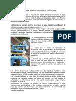 Sistema de tuberías automáticas en hogares