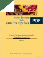 NUEVOS Derroteros de La Narrativa Espanola Actual