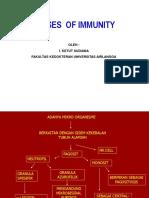 Diseses and Immunity