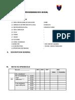 Formatos de Planificacion 2018