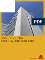 Solutions Sika Pour La Construction