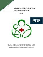 Program Peningkatan Mutu HCU