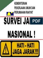 Hati 2 Survei Jalan Nasional