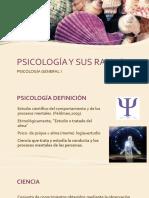 Psicología y Sus Ramas