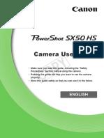 Powershot Sx50 Hs User Guide