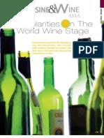 Irregularities on the World Wine Stage