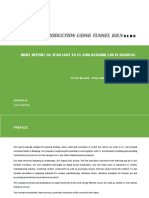 Sponge Iron Production Using Tunnel Kiln Report