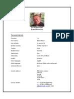 CV Brian Fox