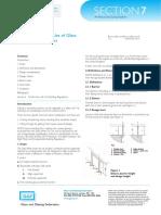 Glass Loading Data Sheet 7.2