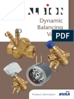Dynamic Balancing Product Information