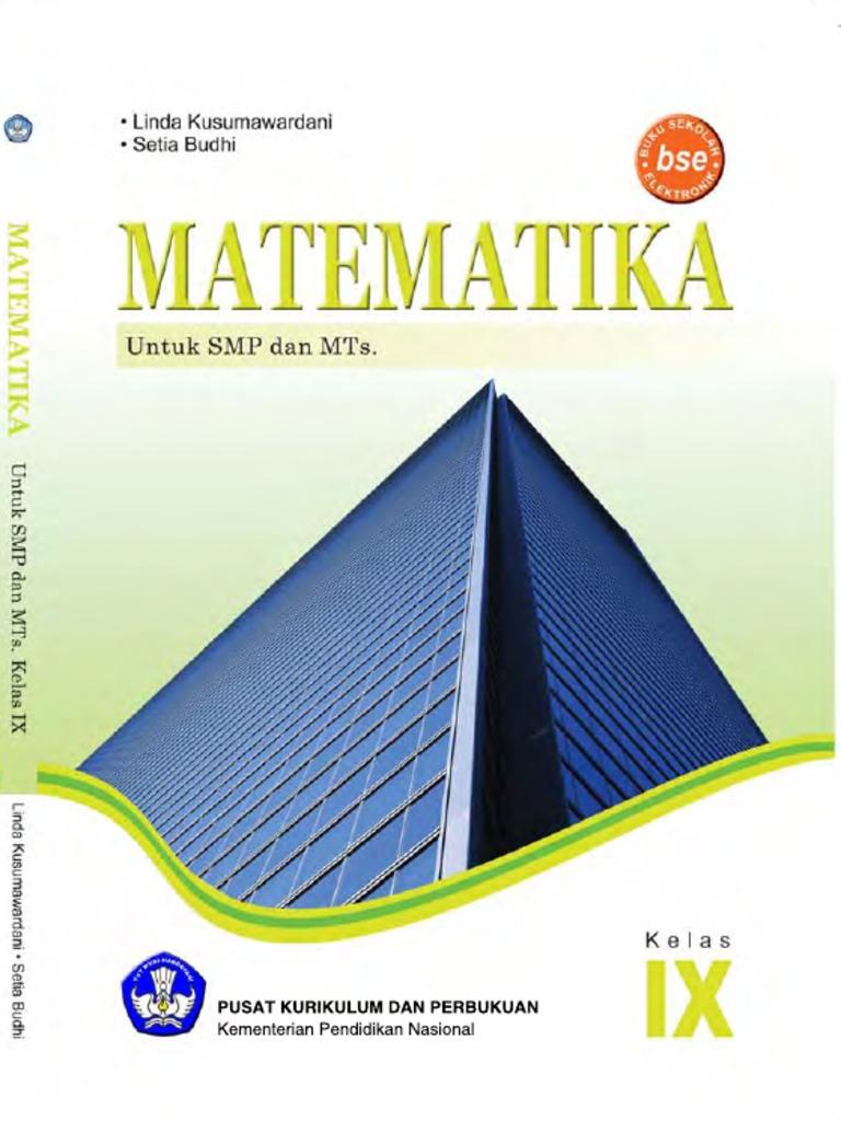 Matematika kelas 9 linda kusumawardani setia budhi 2011 ccuart Gallery