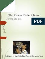 The Present Perfect Tense (1)