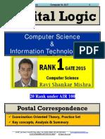 Digital Logic GATE Computer Science Postal Study Material