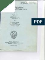 Regionalisation of Hydrological Parameters