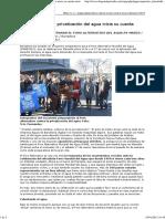 La lucha contra la privatización del agua inicia su cuenta atrás (Diagonal, 18-01-12)