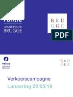 presentatie campagne verkeer - pers