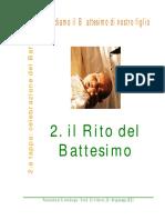 2_2 Il Rito Del Battesimo