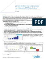 Newsletter_CEM Centric Approach for CSPs and Maturity Model v 0.6