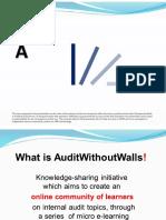 Auditwithoutwalls