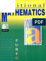 Longman Additional Mathematics for a Level [Advanced Level]