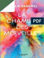 La Chambre des merveilles, de Julien Sandrel