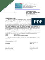 Surat Pengajjuan Dana Buat Dekan