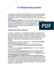 Application Instructions European Schuman Award