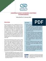 CSD Policy Brief 73 Montenegro
