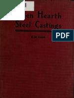 Carr - Open Hearth Steel Castings - 1907