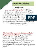 ETIKA_KESEHATAN_MASYARAKAT