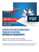 Course Outlines SolidXperts