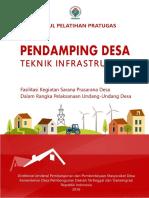 Modul Pelatihan Pratugas Pendamping Desa Teknik Infrastruktur