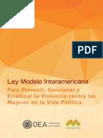 LeyModeloViolenciaPolitica ES